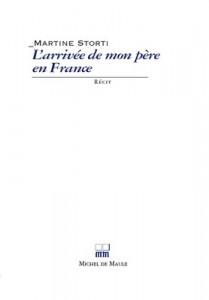 couverture - l'arrivée de mon père en France